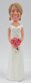 Jacque Bride Cake Topper Figurine
