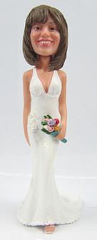 Patrice Bride Cake Topper Figurine