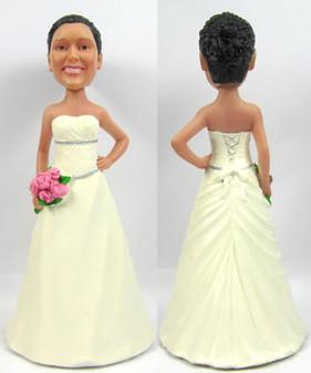 Sarah Bride Cake Topper Figurine