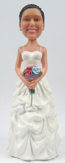 Stefanie Bride Cake Topper Figurine