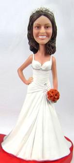 Tara Bride Cake Topper Figurine