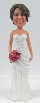 Veronica Bride Cake Topper Figurine