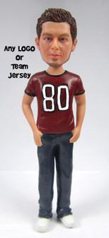 Dan - Sports Groom Cake Topper Figurine