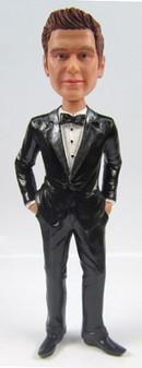 Trent - Dapper Groom Cake Topper Figurine