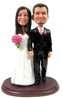 Custom couple wedding bobblehead