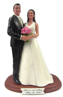 Side by Side Cake Topper