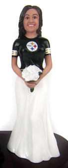 Jennifer Sports Bride Cake Topper Figurin
