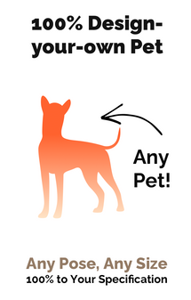 100% Design-your-own Dog/Cat/Any Pet