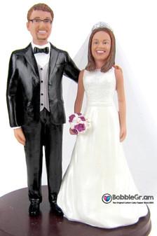 Custom Young Love Wedding Cake Topper