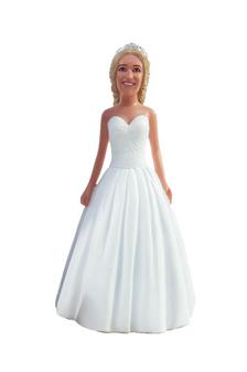 Jane Bride Cake Topper Figurine