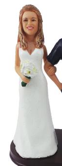 Elise Bride Cake Topper Figurine