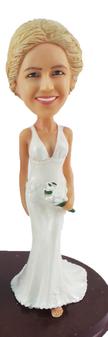 Suzie Bride Cake Topper Figurine