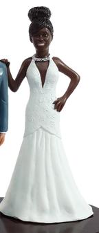 Priscilla Bride Cake Topper Figurine