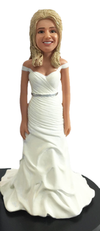 Bailey Bride Cake Topper Figurine