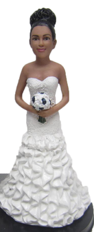 Kelly Bride Cake Topper Figurine
