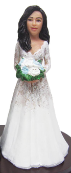 Stacy Bride Cake Topper Figurine