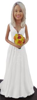 Jay Bride Cake Topper Figurine
