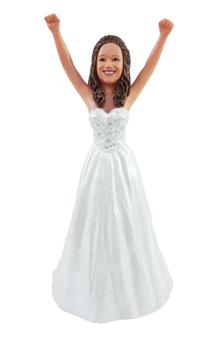 Joyce Bride Cake Topper Figurine