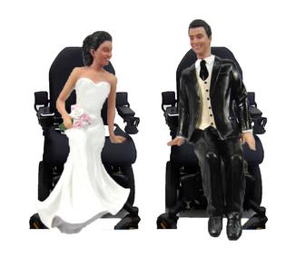 Custom Pair of Wheelchairs