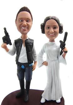 Custom Star Wars Wedding Cake Toppers