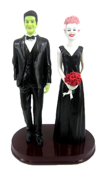 Frankenstein and Bride Cake Topper