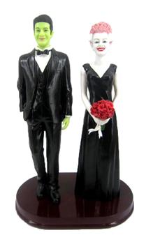 Frankenstein and Bride Cake Topper