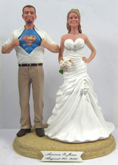 Clark Kent Groom No Jacket w/ Your Choice of Bride
