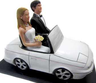 Convertible couple custom wedding cake topper
