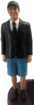 Shorts Groom Cake Topper Figurine