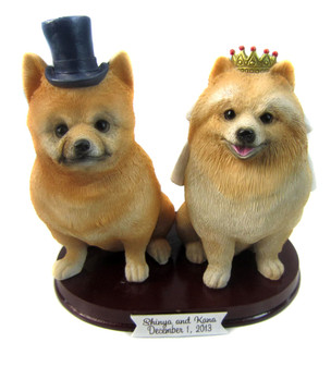 Your pets as a wedding cake topper
