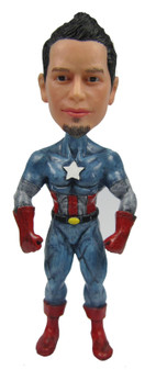 Real Peeps Cake Topper Male #24 - Captain America