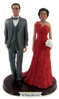 Custom Wedding Anniversary Couple
