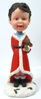 Child Bobble Head figurine with Teddy Bear
