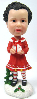 Custom Child Bobble Head figurine with Gift