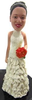 Chantel Bride Cake Topper Figurine