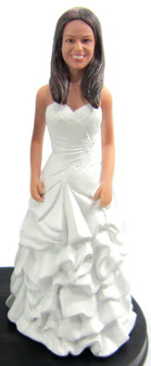 Mary Bride Cake Topper Figurine