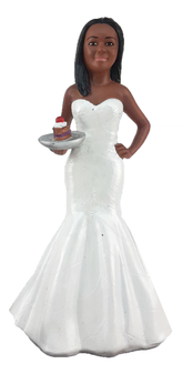 Baker Bride 2 Cake Topper Figurine