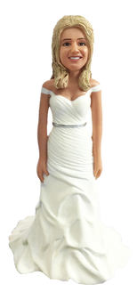 Taelyr Shorter Bride Cake Topper Figurine