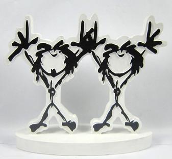 Pearl Jam Logo Wedding Cake Topper