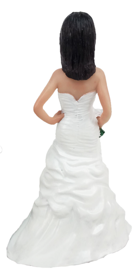 Lauren Bride Cake Topper Figurine