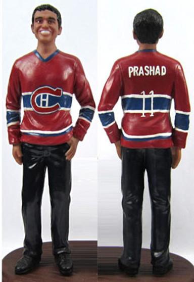 Hockey Groom Style Figurine