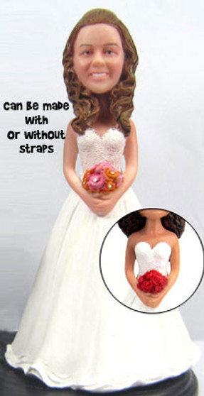 Amie Bride Cake Topper Figurine