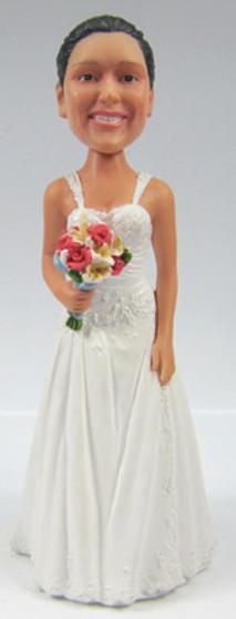 Kristie Bride Cake Topper Figurine