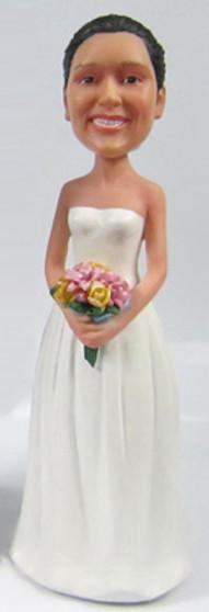 Lila Bride Cake Topper Figurine