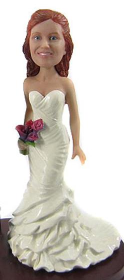 Maribel Bride Cake Topper Figurine
