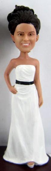 Shania Bride Cake Topper Figurine