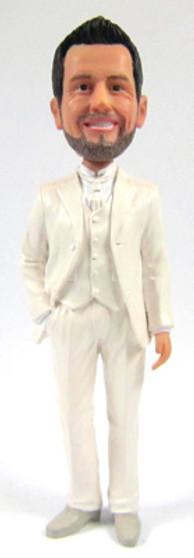 Nigel - Euro Groom Cake Topper Figurine