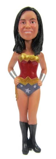 Wonderwoman Bride - Modern Cake Topper Figurine