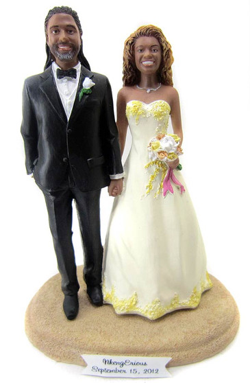 Custom made cake topper in your colors