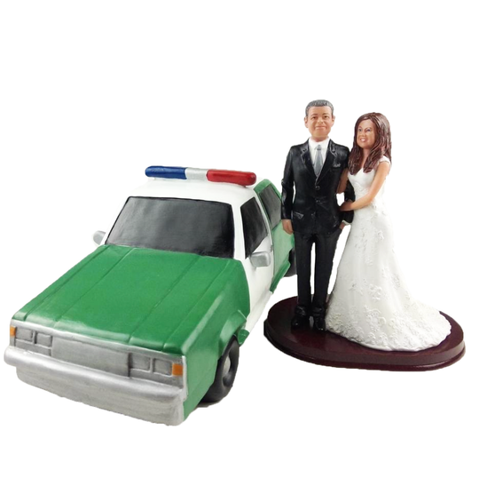 Add a custom car to any cake topper